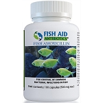 Fish Aid Amoxicillin Capsules - 500 mg. strength - 100 capsules - TEMPORARY MANUFACTURER BACKORDER