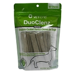 DuoClenz Enzymatic Rawhide Chews for Dogs - 0 - 11 lbs - 30 chews