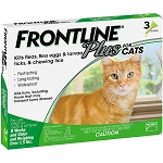 Frontline Plus for Cats - 3 doses