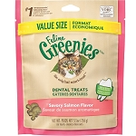 Greenies for Cats - Salmon Flavor - larger 5.5 oz.
