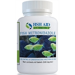 Fish Aid Metronidazole - 500 mg. strength - 60 Tablets