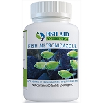 Fish Aid Metronidazole - 250 mg. strength - 60 tablets