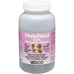 Nutrived OFA Chewable Dog Tabs - Small and Medium dogs - 60 tabs