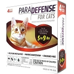 Para Defense Topical Solution for Cats - 5 - 9 lb. - 4 applications