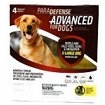 Para Defense Advanced for Dogs - 55 +  lb. - 4 applications