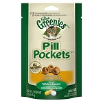 Pill Pockets Treats for Cats - Chicken Flavor - 45 pockets