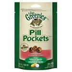 Pill Pockets Treats for Cats - Salmon Flavor - 45 pockets