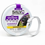 Salvo Flea and Tick Collar for Dogs - 2 collars - 2 sizes