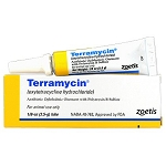 Terramycin Ophthalmic Ointment  -  1/8 oz. Tube - CANNOT SHIP THIS PRODUCT TO CALIFORNIA