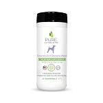 Pure and Natural Pet Grooming and Cleansing Wipes (Lavender & Rosemary)- 50 wipes