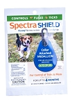 Spectra Shield Collar Attached Medallion - Small dog 14 - 29 lb. - 1 medallion