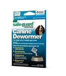Safe-Guard Canine Dewormer (fenbendazole)- 2gm- box of 3 packets