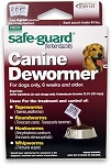 Safe-Guard Canine Dewormer (fenbendazole)- 4gm- box of 3 packets