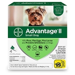 Advantage ll for Dogs - 3 to10 lb. - 4 applications
