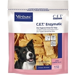 C.E.T. Enzymatic Oral Hygiene Chews Medium - Dogs 26 - 50 lbs. - 30 chews