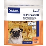 C.E.T. Enzymatic Oral Hygiene Chews Small - Dogs 11 - 25 lbs. - 30 chews