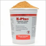 K-Plus Potassium Citrate plus Cranberry Granules - 300 gm (over 1/2 lb.)