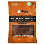 Dental Health Bones with PlaqueOff - Carrot and Pumpkin - 17 oz.