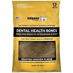 Dental Health Bones with PlaqueOff - Roasted Chicken Flavor - 17 oz.
