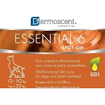 Dermoscent Essential 6 Spot-On Skin Care for Dogs - up to 22 lbs.