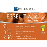 Dermoscent Essential 6 Spot-On Skin Care for Dogs - 22 - 45 lbs.