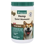 NaturVet Hemp Quiet Moments Calming Aid - 60 soft chews