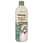 NaturVet Hemp Shampoo & Conditioner 2-in-1 - 16 oz.