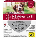 K9 Advantix II for Dogs - 21 - 55 lb. - 4 applications