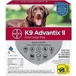 K9 Advantix II for Dogs - 55 lb. and over - 4 applications