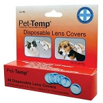 Pet Temp Ear Thermometer Lens Covers - 40 covers