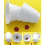 Crush Cup/Pill Splitter Combination Set -  1 set