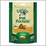 Pill Pockets Treats for Dogs- Chicken Capsules- Large 60ct.