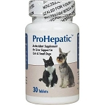 ProHepatic Liver Support  - Cats & Small Dogs - 30 tablets
