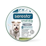 Seresto Flea and Tick Collar -  Small dog up to 18 lb. - 1 collar