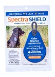 Spectra Shield Collar Attached Medallion - Large dog over 56 lb. - 1 medallion
