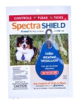 Spectra Shield Collar Attached Medallion - Medium dog 30 - 55 lb. - 1 medallion