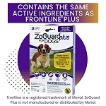 ZoGuard Plus for Dogs - Medium 23 - 44 lb. - 3 applications