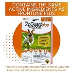 ZoGuard Plus for Dogs - Small 4 - 22 lb. - 3 applications