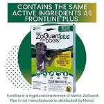 ZoGuard Plus for Dogs - Extra Large 89 - 132 lb. - 3 applications