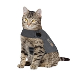 ThunderShirt Cat Anxiety Solution - Heather Grey - 3 sizes