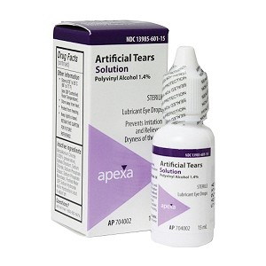 Artificial Tears 15 ml - Actual Product may vary from photo.
