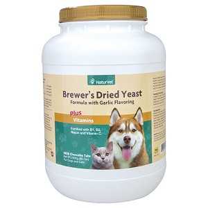 For naturally healthy skin and a glossy coat - vitamin enriched tablets and powder contain top quality debittered yeast that your dogs and cats love to eat - fortified with B1, B2, Niacin and Vitamin C, an important antioxidant