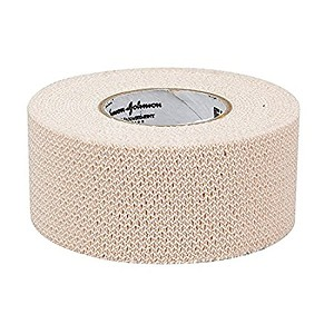 High quality cotton elastic cloth tape with a rubber based adhesive - stretchy nature creates support for injured joints, muscles, etc.