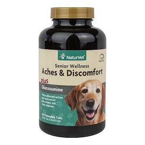 Senior Aches and Disomforts Plus Glucosamine - Aspirin Free - 60 tabs