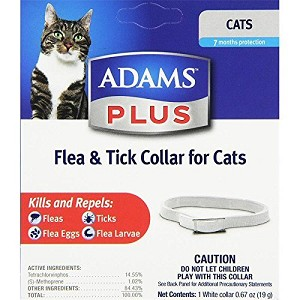 Adams Plus Flea and Tick Collar - Cats and Kittens - 1 collar
