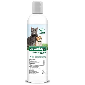 For use on cats and kittens over the age of 12 weeks for control of flea and ticks