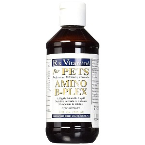 This professional veterinary formula is a highly palatable liquid that enhances energy, metabolism and vitality - one bottle can last 8 months!