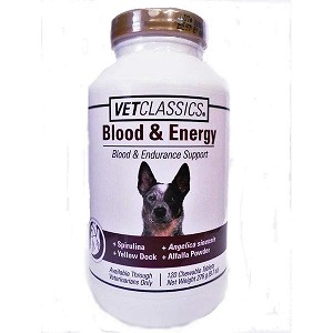 This unique supplement is for dogs who are active or experiencing stressful situations such as pregnancy or recovering from surgery or illness