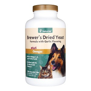 Protein-rich - Contains top quality debittered yeast that your dogs and cats love to eat - Contains 5% garlic