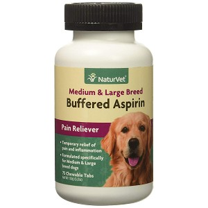 Buffered Aspirin for Medium & Large Dogs - 75 tablets